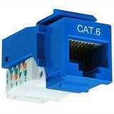 Módulo Keystone Jack Rj45 Cat6 Azul T/110 Icb Technologies