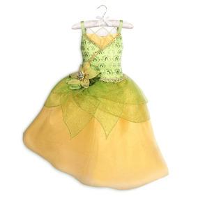 Vestido Princesa Tiana Original Da Disney Store P/entrega
