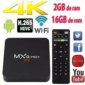 Smart Tv Box Pro 4k 2gb Ram 16gb 2019+ Frete Grátis
