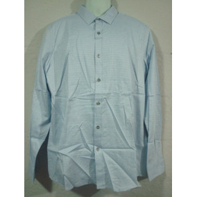 Camisa Marc Anthony Color Azul Claro Talla L Slim Fit