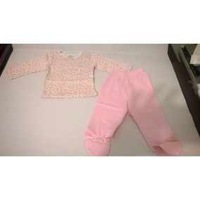 Conjunto Polo Ml Y Pantalon Niñas De 0-3y3-6 Meses