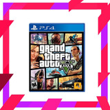 Grand Theft Auto Gta V Original Ps4 | Mod Games