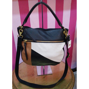 f688a8208309 Bolsa Fossil Negra 100% Piel 100% Original - Bolsas en Mercado Libre ...