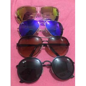 11021895f42cc Óculos Rayban Réplica Premium De Sol Ray Ban Aviator - Óculos no ...