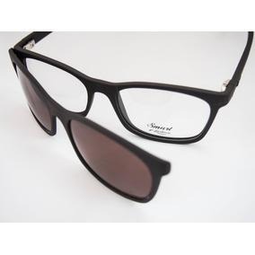 70c990b896c41 Armação Para Óculos Smart Grilamid Com Clip Solar Mod950
