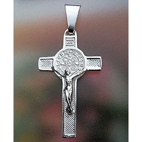 75fe70454a5 Medalla De San Benito En Plata Ley en Mercado Libre México