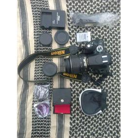 Nikon D5100 16megapixel, 2 Baterías, Lente 18-55, Todos Los