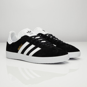 official photos 8b5bd 47e44 Zapatillas adidas Gazelle Originals Negras En Caja Ndph
