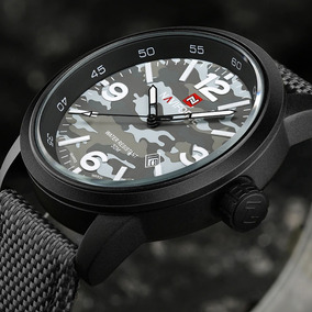 Relogio Naviforce 9080 Masculino Relógio Stilo Militar