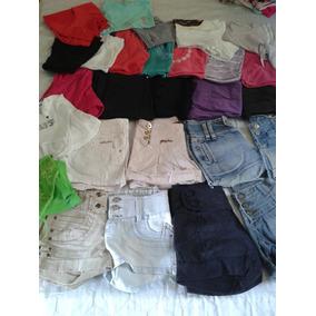 5c82b2d7532 Kit Shorts Adidas Feminino - Shorts para Feminino Azul no Mercado ...