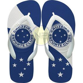 Chinelo Oficial Cruzeiro Tipo Havaianas - Calçados c14e2876f52b4