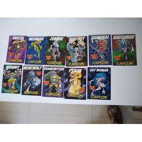 Cards Darkstalkers Capcom