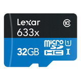 Lexar High-performance Microsdhc 633x 32gb Uhs-i Card W/sd A