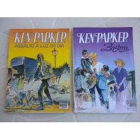 Ken Parker Nº 1 E 2 - Editora Best News - 1990