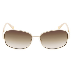 Óculos De Sol Nine West Nw114s 718 58 Dourado 5acd5ce35f