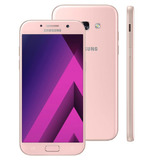 Smartphone Samsung Galaxy A5 2017 A520f/ds Rosa Com 64gb