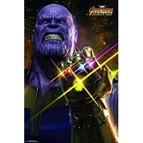 Poster Thanos Filme Vingadores Avengers