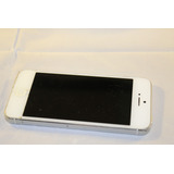 Iphone 5c Blanco 16 Gb Usado Funcionando Con Detalle