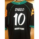 11b894538416a Camisa Werder Bremen Uniforme 3 2008 09 G 10-diego Flamengo