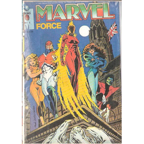 Lote Marvel Force Nº1 - Editora Globo