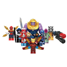 Coleccion Thanos Avengers Infinity War Compatible Bloques