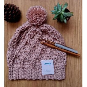 Gorro Touca Lã Crochê - Acessórios da Moda Femininas no Mercado ... 1e3ed6b841a