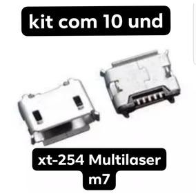 Usb De Carga Tab Multilaser M7 Dual Core Original 10und