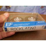 Rock Latino, Música En Cassette, Buen Estado
