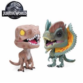 Jurassic World Dinosaurio 2 Piezas 10 Cm + Envio Gratis