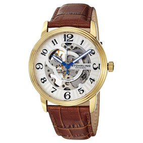 Reloj Acero Inoxidable Correa Piel 107bg.3335t2 Stührling