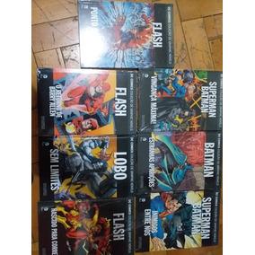 Coleção Graphic Novels Dc 7 Volumes