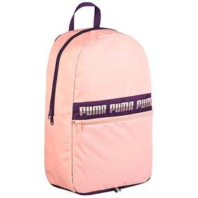 Mochila Puma Phase Backpack 075592-10 Rosa Dama Pv