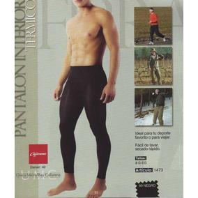 Pantalon Interior Termico De Microfibra Caballero Chemisette