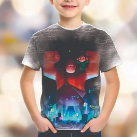 Camiseta Personalizada Wifi Ralph Quebrando A Internet Hd 08