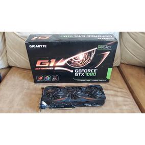 Placa De Vídeo Geforce Gtx 1080 8gb Ddr5