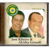 Cd José Ribeiro E Alcides Gerardi - Brasil Popular