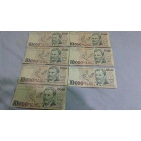 Notas, Cédulas Antigas Dez Mil Cruzeiros Vital Brazil