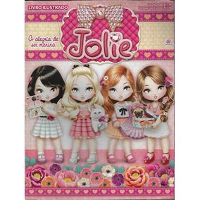 2015 Álbum De Figurinhas Jolie Alegria Ser Menina Completo