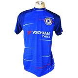 b767dd397de41 Camisa Chelsea Nova Azul Treino Premier League 2019 Barato