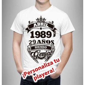 Playeras Personalizada Para Cumpleaños - Serigrafia