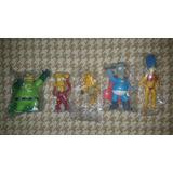 Kit Simpsons Heroes - Homero Pai -marge Fisiculturista Y Mas