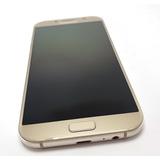 Celular Samsung A7 2017 64gb Duos Dourado Comprado Na Vivo