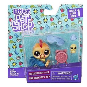 Par De Mascotas Gallo Littlest Pet Shop