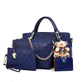 4c58b1e19 Bolso Cuero Renzo Costa Azul - Vestuario y Calzado en Mercado Libre ...
