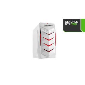 Cpu Pc Gamer Intel/ Gtx 750/ 4gb/ 500hd/ Gtav Fortnite
