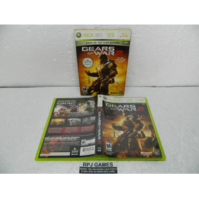 Gears Of War 2 Original Midia Fisica Completa Xbox 360 Loja