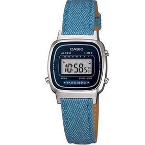 b9518912f55 Casio Vintage Prata Com Azul Feminino - Relógios De Pulso no Mercado ...