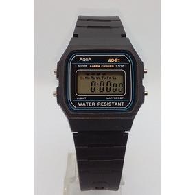 3503f69e576 Relógio Digital Aqua Aq 81 Similar Ao Casio A Prova D´agua ...