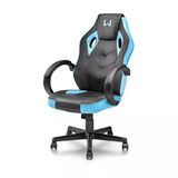 Cadeira Gamer Warrior Azul Ergonomica Confortavel