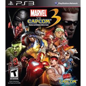 Jogo Marvel Vs Capcom 3 Ps3 Capcom Mídia Física Frete Grátis